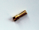 5,5mm Stecker Goldkontakt