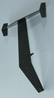 CFRP tail for Hughes 500D / E (450)