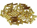 4,0mm Winkel-Stecker Goldkontakt